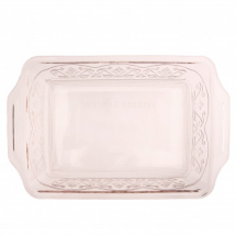 Anchor Hocking Laurel Embossed 3qt Rosewater Premium Bake Dish