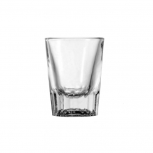 2oz Shot Glass with 1oz Cap Pack of 48