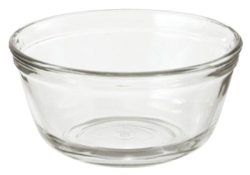 4 Litre Mixing Bowl Tempered Glass Pack of 2