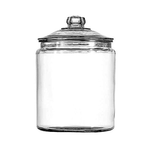 1/2 gallon Heritage Hill Jar With Glass Cover Pack of 2