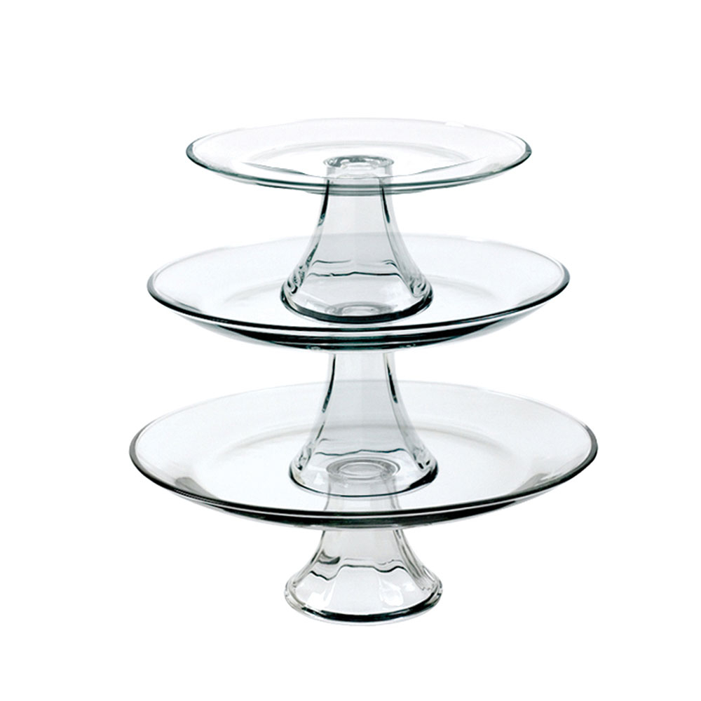 3 Tiered Platter Set 8inch, 10inch & 13inch Platter Pack of 2