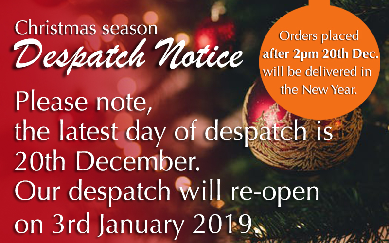Samuel Groves Christmas Despatch Notice