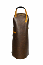 Rustic Classic Leather Apron Brown