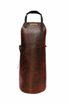 Rustic Classic Leather Apron Ox Red