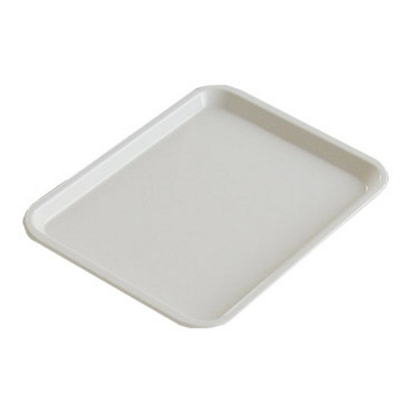 FOOD DISPLAY TRAY 300X215mm WHITE ABS