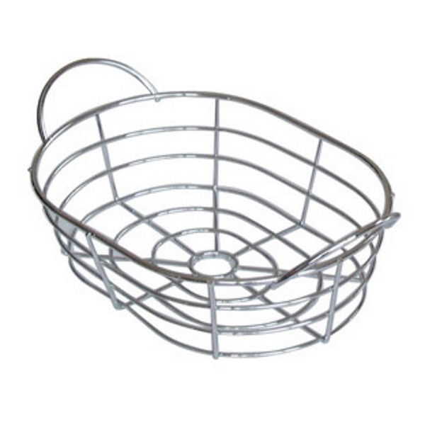 Chromed wire baskets l370 x w260 x h105mm