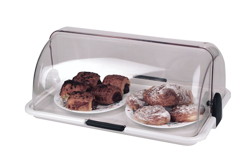 Covered Food Display Tray L465 x 310 x 195mm