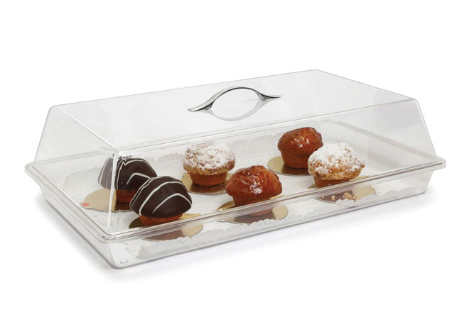 Cake Display Box With Lid 125 X 456 X 248mm