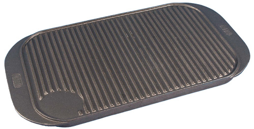 Cast Iron Reversible Griddle Tray L x 482 W 263 19inchX 10inch