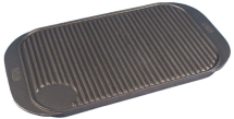 19inch x 10inch Cast Iron Reversible Griddle Tray