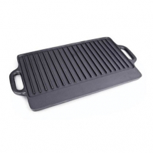 15inch x 9inch Cast Iron Griddle with Handle