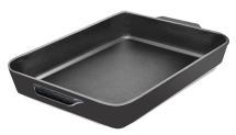 12.5inch x 10inch Cast Iron Grill Pan