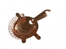 ROUND STRAINER COPPER PLATED