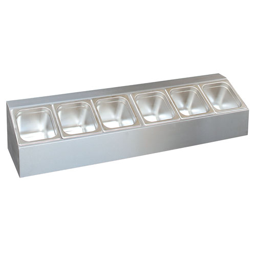 Table Top Salad Bar - Single 1010 x 250 x 210 mm