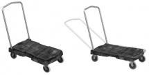 Utility Trolly Load of 110kg with 7.5cm Casters