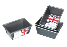 Mini Loaf Tins (Set Of 4) 9 x 6 x 4cm Non Stick