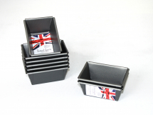 Mini Loaf Tin (Set Of 6) 9 x 6 x 4cm  Non Stick