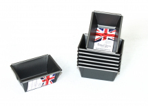 Mini Loaf Tins (Set of 8) 9 x 6x 4cm  Non Stick