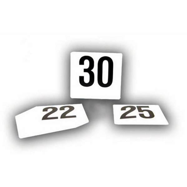 TABLE NUMBERS 1-50 (FOR HOLDERS)