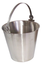 STAINLESS STEEL BUCKET 12 LTR CAPACITY