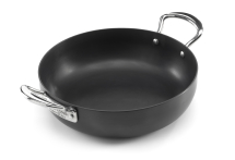 10inch Ultimate Carbon Chefs Pan With Side Handles