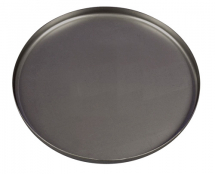 12inch BlackIron Shallow PizzaPan 300 x 12.5 mm