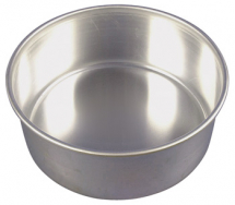 8inch Fixed Base Cake Tin 203 x 82mm 8 x 31/4inch Alum
