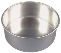 6inch Loose Base Cake Tin 150 x 70mm 6 x 23/4inch Alum