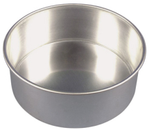 7inch Loose Base Cake Tin 180 x 76mm 7 x 3inch Alum