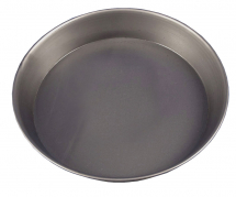 Black Iron 1.5inch Deep Pizza Pan 10inch Dia 250mm