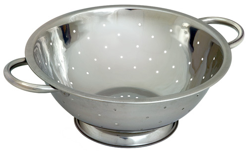 9.5inch Stainless Steel Colander 240mm