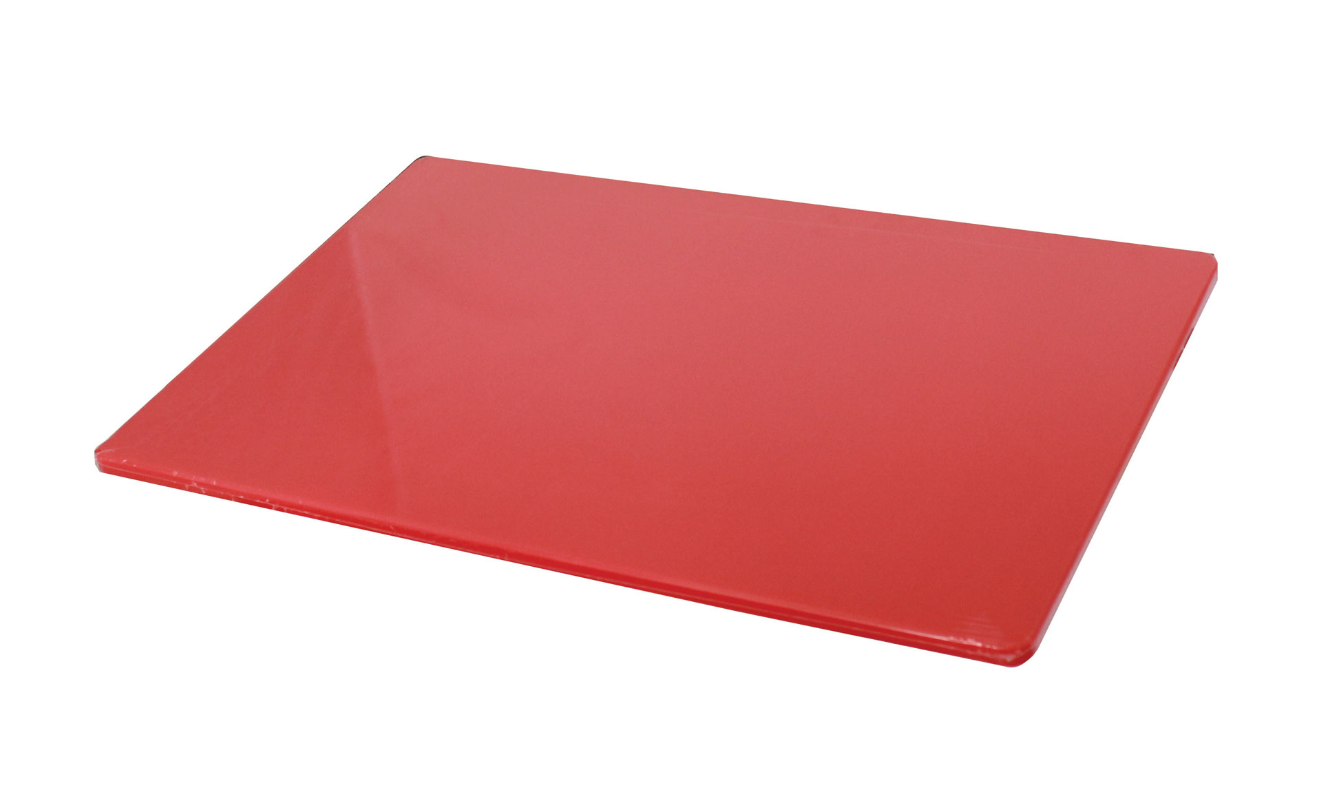 Red High Density Standard Size Chopping Board 457 x 300 x 12 x 12.7 mm