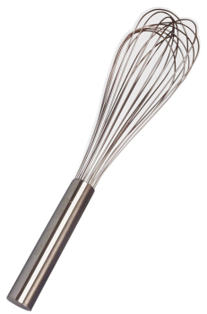 12 Wire Piano Whisk - Sealed Handle 250MM/10Inch