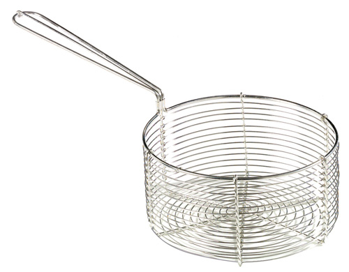 Stainless Steel Fish & Chip Basket, 200 x 100 mm