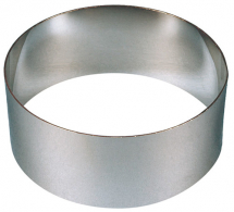 Food Ring - Stainless Steel 120 x 45mm.  4 3/4 x 1 3/4inch