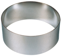 Food Ring - Stainless Steel 90 x 70mm.  3.5 x 2 3/4inch