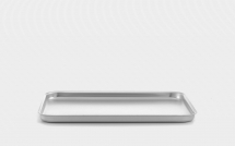 12inch Mermaid Silver Anodised Aluminium Baking Tray