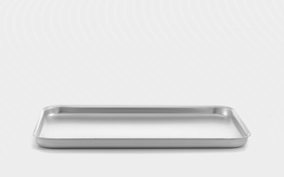 14inch Mermaid Silver Anodised Aluminium Baking Tray