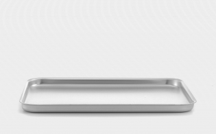 16inch Mermaid Silver Anodised Aluminium Baking Tray