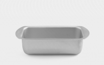 2lb Merdmiad Silver Anoised Loaf Tin