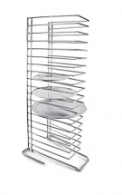 Chrome Plated Steel Pizza Tray Rack (Holds 18 Pizza Trays)