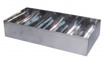 5 COMPARTMENT CUTLERY BOX S/STEEL