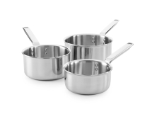3 Piece Tri-Ply Stainless Steel Saucepan Set