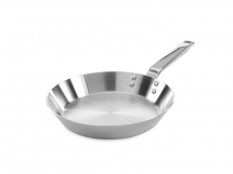 Elegance 9inch Stainless Steel Triply Traditional Deep Frying Pan