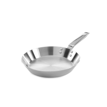10inch Stainless Steel Triply Straight Sided Frying Pan