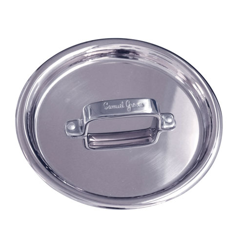 "7"" Stainless Steel Triply Lid Sauce Pan & Casserole Pan."