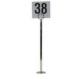 TABLE NUMBER HOLDERS 12inch, PACK OF 10 PIECES