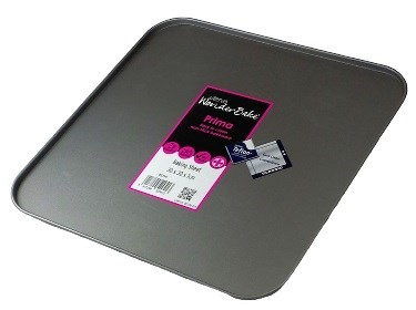 Prima 12inchx12inch Baking Sheet 30 x 30 x 1 1-Coat Non-Stick